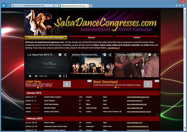 Salsa Dance Congresses