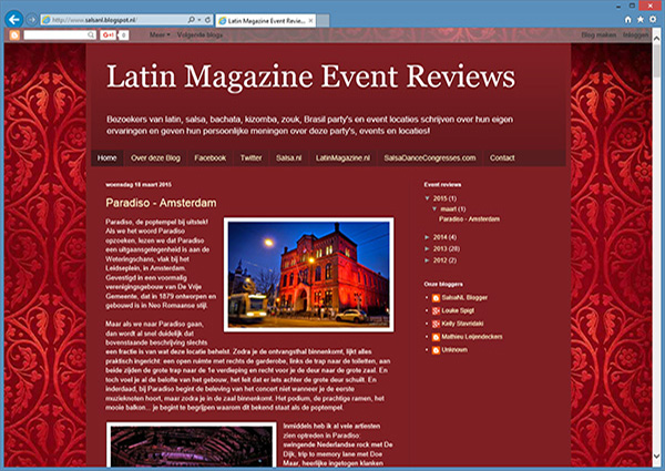 Latin Magazine Event Reviews